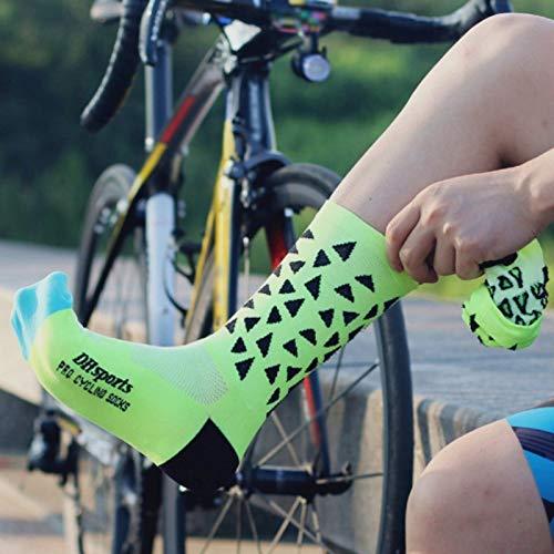Nsblln Moda Piede Calza Professionali Cycling Socks Resistente allUsura Comodo Respirabile Outdoor Training Sport Indossando