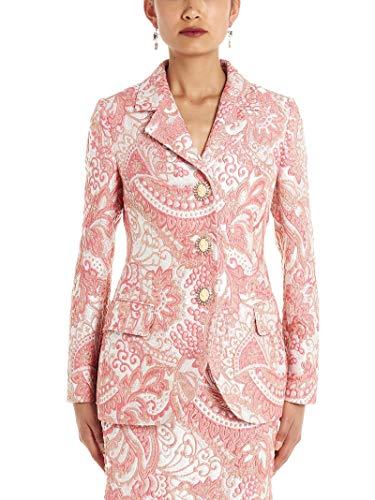 Dolce e Gabbana Luxury Fashion Woman F28QTZHJMFWS8350 Pink Elastane Blazer | Fall Winter 19