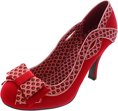 Red RUBY Ruby SHOO Ivy Shoo White Red rIIf6Sw