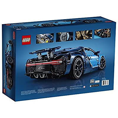 LEGO Technic Bugatti Chiron 42083 Race Car Building Kit and Engineering Toy, Adult Collectible Sports Car with Scale Model Engine (3599 Pieces): Toys & Games