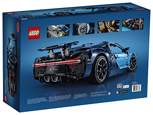 51tpiL%2B%2Bu3L - LEGO Technic Bugatti Chiron 42083 Race Car Building Kit and Engineering Toy, Adult Collectible Sports Car with Scale Model Engine (3599 Piece)