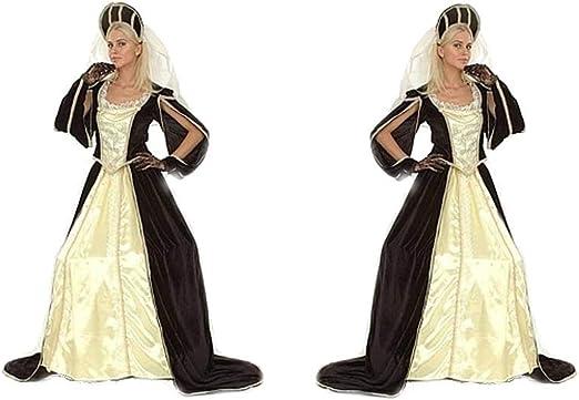 LBA Disfraz de Princesa Medieval. Adulto. Talla única (M/L ...