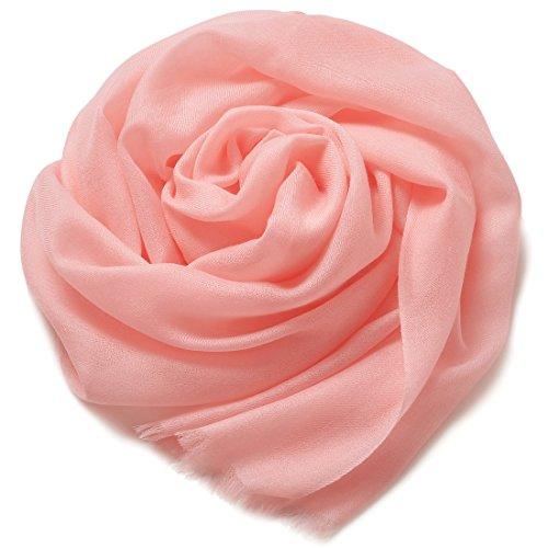 "ZORJAR Pure Cashmere Pashmina Scarf for Women Wraps Ultra Thin 27""x28"""
