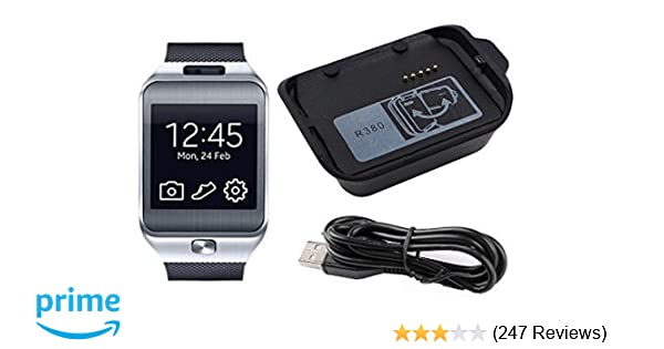 Tougs Galaxy Gear 2 R380 Demomm Charger Charging Cradle Dock for Samsung Galaxy Gear 2 R380 Smart Watch