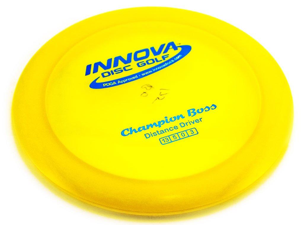 Innova - Champion Discs Boss Golf Disc (Colors may vary) 160-164g