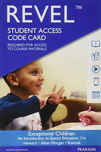 REVEL for Exceptional Children: An Introduction to Special Education -- Access Card (11th Edition)