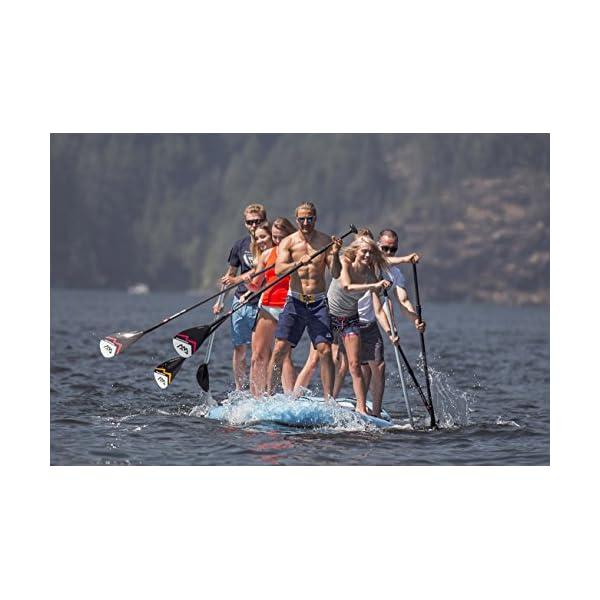 Marina MEGA 18.1 iSUP Sup Stand Up Paddle Board fino a 650 kg 4 spesavip
