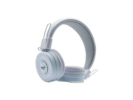 Vieta VHP-BT280WH - Auricular de diadema con Bluetooth, color blanco