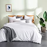 THXSILK Silk Comforter for Summer with Cotton Shell, Silk Filled Comforter,Silk Quilt, Silk Duvet -Ultra Soft, Hypoallergenic, Light Weighted-100% Top Grade Mulberry Silk, King Size, White