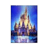 Finance Plan The Latest Deer Castle 5D Diamond Painting DIY Cross Stitch Handcraft Home Wall Art Decor 7628