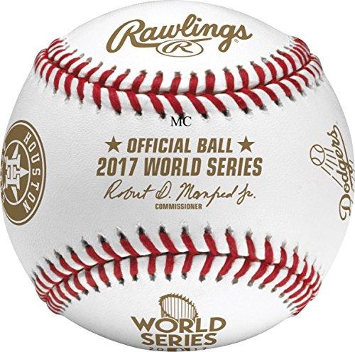 (Rawlings 2017 MLB World Series Dueling Teams Baseball Houston Astros LA Dodgers)
