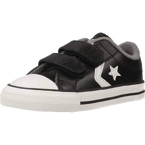 Converse Lifestyle Star Player 2v Ox, Zapatillas de Estar por casa para Bebés: Amazon.es: Zapatos y complementos
