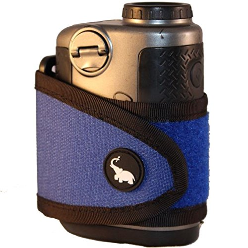Monument Golf 1005BL Stick It Classic Series Magnetic Rangefinder Strap, Blue