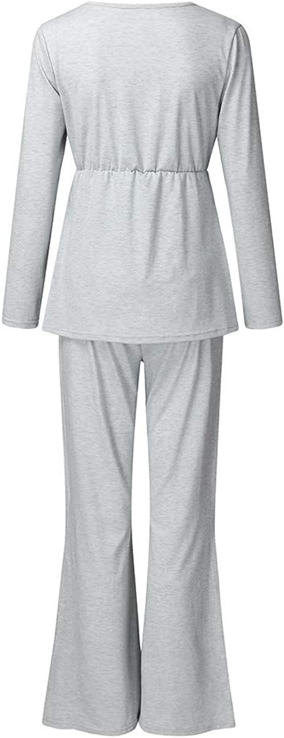 Mono Premaman elegante pijama de algodón natural para mujer ...