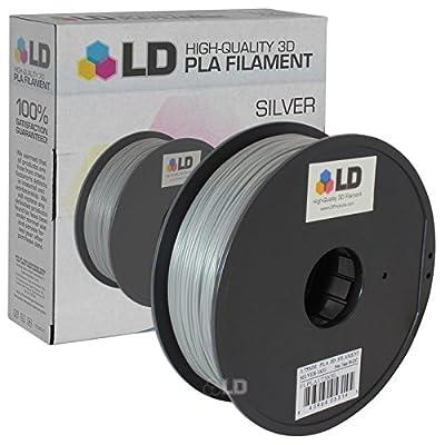 LD Silver 1.75mm PLA 3D Printer Filament