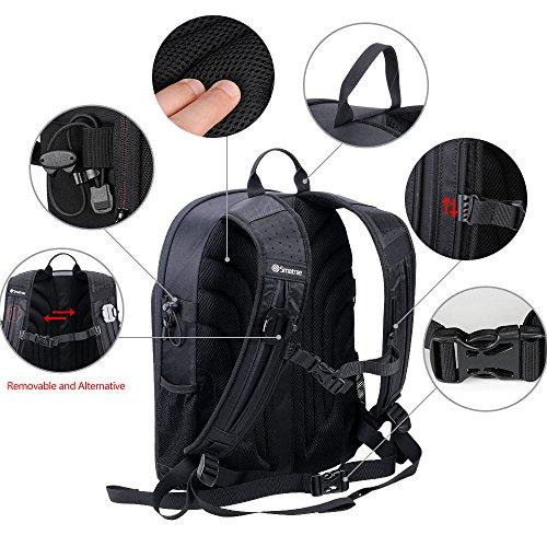 Smatree Mavic Pro Backpack Compatible for DJI Mavic Platinum/DJI Mavic Pro Fly More Combo/GoPro Hero 2018/7/6/5/4/3+/3(Not fit for Mavic 2 pro/Mavic 2 Zoom)