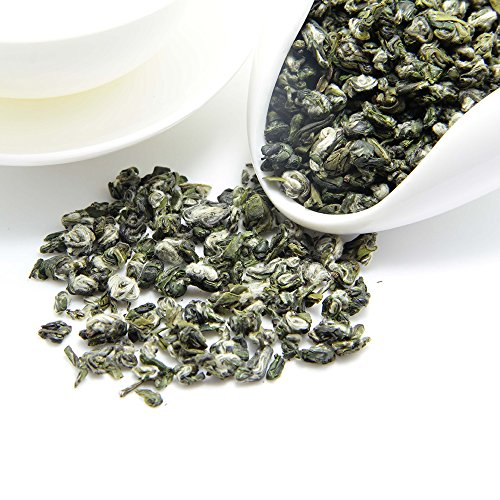 Chinese Jade Cup (2018yr Spring Green Tea Leaves - Fujian Bi Luo Chun (Pi Lo Chun) - Jade Spiral Shaped Chinese Tea - Loose Leaf Green Tea - Fresh Harvest - Famous Chinese Green Tea - Weight Loss Tea - 100g/3.5oz)