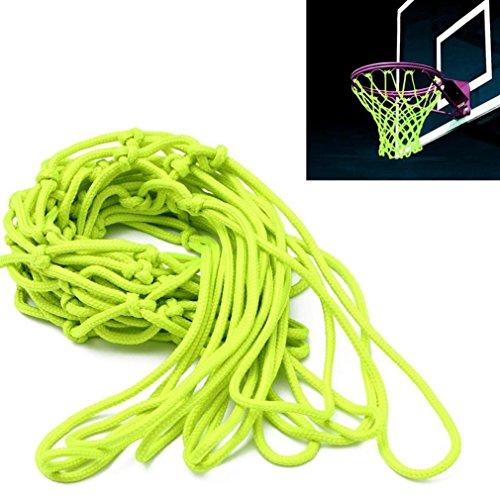 SMYTShop Universal Indoor Outdoor Sport Replacement Luminous Basketball Hoop Goal Rim Net Glow in The Dark