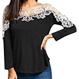 SMALLE ◕‿◕ Clearance,Women Ladies Casual Lace Patchwork...