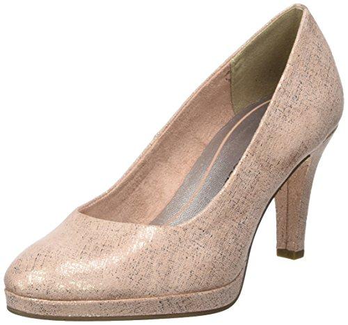 Metallic Damen Marco Pumps rose Pink Tozzi 22404