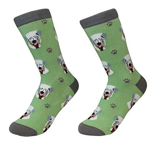 Soft Coated Wheaten Terrier Dog Breed Socks Unisex Sock Daddy by E&S Pets ()