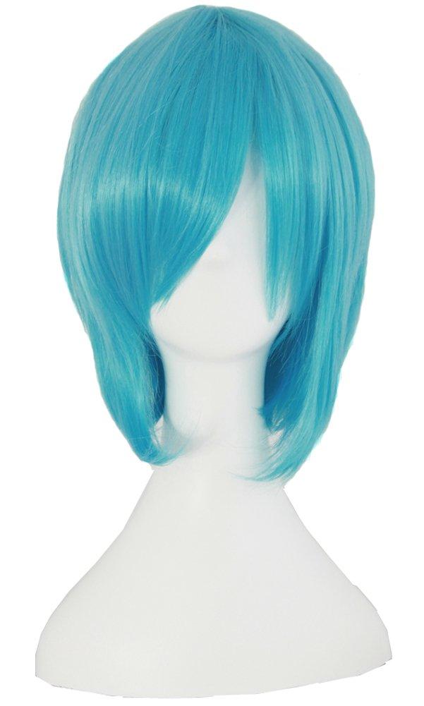 Amazon.com: MapofBeauty Vocaloid Miku Blue 2 Ponytails ...