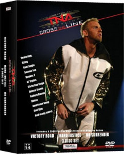 Tna Cross - TNA: Cross the Line PPV 3 Pack - Christian Cage