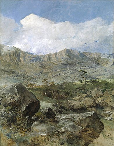 Oil Painting 'Domingo Marques Francisco Gran Paisaje (Aragon) Ca. 1900' 10 x 13 inch / 25 x 32 cm , on High Definition HD canvas prints is for Gifts And Home Theater, Living Room And Nursery decor (Hampton Beach Stand Mixer compare prices)