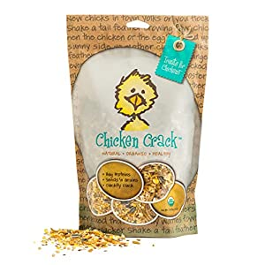 Treats For Chickens Certified Organic Chicken Crack Treat, 1-Pound, 13 Oz 81