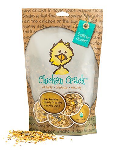 Treats For Chickens Certified Organic Chicken Crack Treat, 1-Pound, 13 Oz