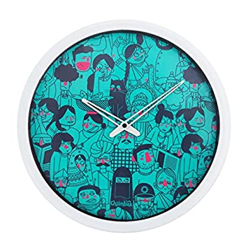 Buy Chumbak Faces of India Wall Clock Online at Low Prices in