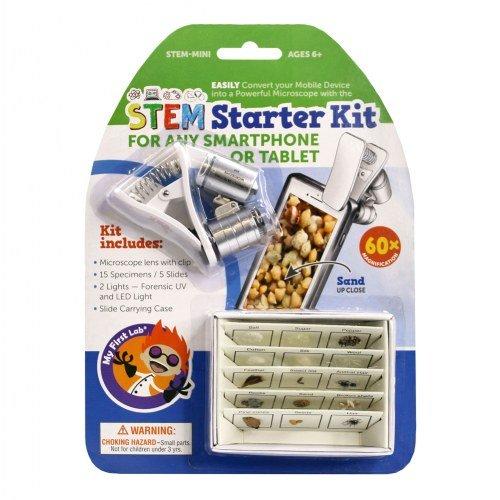 My First STEM Starter Kit, Slides, & Microscope Accessories