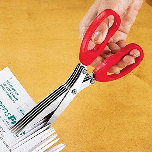 Shredding Scissor Five Cutting Heads Hand Held Portable Home Office (Home Depot Halloween Clearance)
