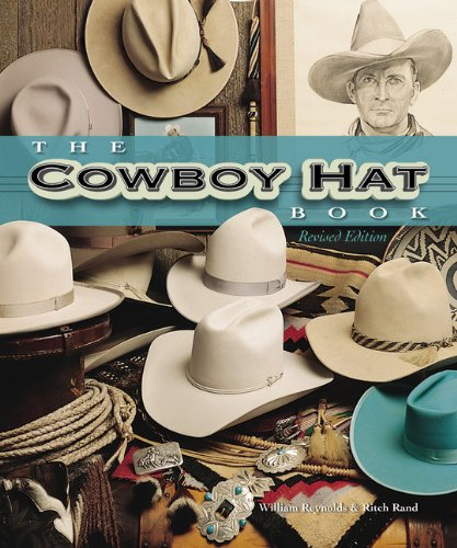 Revised to include presidential hats, new celebrity hats, and a fully updated resource listing of custom hatters. The Cowboy Hat Book features an impressive array of cowboy hats, showcasing the wide variety of styles, colors, and fabrics used to crea...