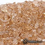 1 Pound Bag of 1/4'' Copper Penny Fireglass