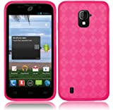 ZTE Majesty Z796C ( Straight Talk , Net10 ) Phone Case Accessory Delicate Pink TPU Skin Cover with Free Gift Aplus Pouch