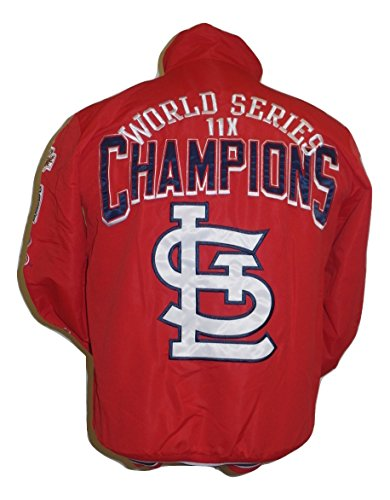 Louis Womens Jacket (ST Louis Cardinals Mid Weight Championship Jacket)