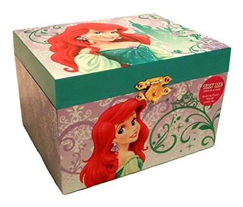 Disney Princess Ariel Little Mermaid Jewelry Music Box