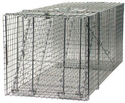 Havahart Cage Trap 42 In. X 15 In. X 15 In. For Large Animals ()