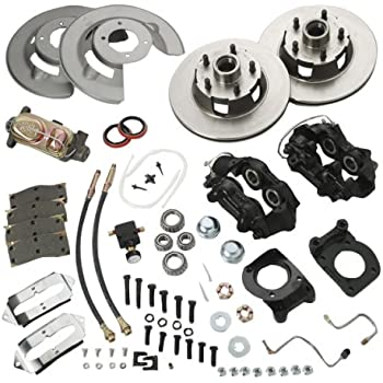 Amazon com: SSBC A130-2 Rear Drum to Disc Brake Conversion Kit