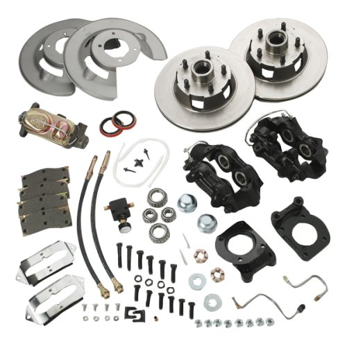 SSBC A120D Drum to Disc Brake Conversion Kit ()
