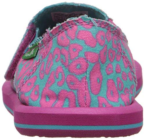 Slip Pink on I'm Kids turquoise Game Cheetah Sanuk qz7t8W