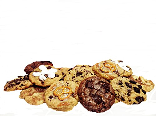 Gourmet Cookies Gift Box, Fresh Baked Assorted 3 Pound, Natural, Snack, Soft Baked & Chewy For Gift Giving Baby g's Cookies