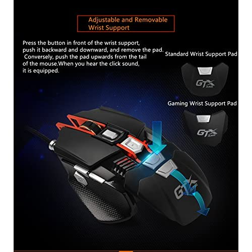 7.8inch/×7.8inch)Anti Slip Rubber Smooth Surface Mouse Mat for Home /& Office /& Travel Marble2 Gaming Round Mouse Pad