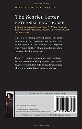 The Scarlet Letter Wordsworth Classics Amazon Nathaniel