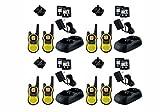 motorola 2 way radios long range - 8-PACK Motorola TALKABOUT MH230R FRS/GMRS 2-Way Radios, 23-Mile Range 22 Channels, Brand New Sealed 8 PACK