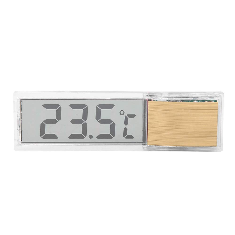 koulate Fish Tank Water Thermometer Fish Culture Temperature Digital Temperature Meter for Aquarium Monitoring