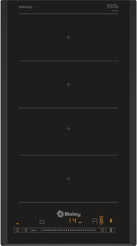 Balay - Placa modular 3eb939lq con zona doble flex inducción ...