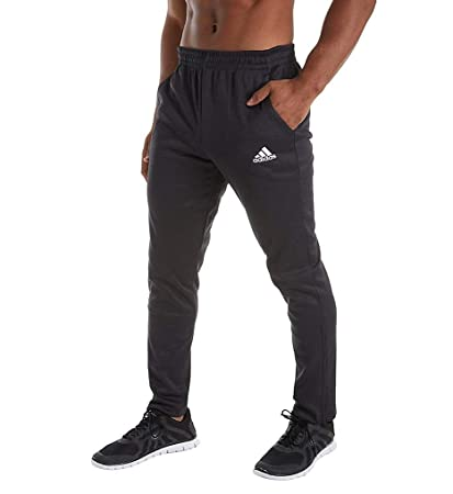 low priced f1ccd 707bf adidas Men s Team Issue Tapered Pant, Black Melange, ...