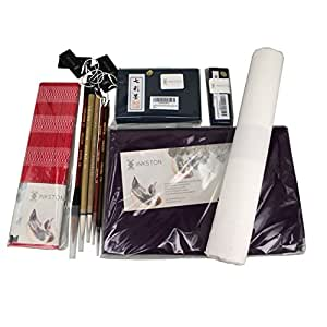 INKSTON Kit Para Pintura China y Sumi-E 10 Piezas: Amazon.es ...